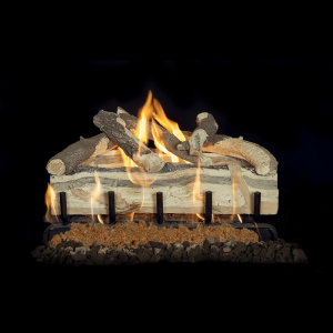 Grand Canyon Blue Pine Split Gas Logs