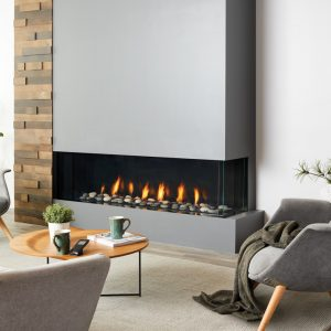 Regency City Series San Francisco Bay 60″ Gas Fireplace