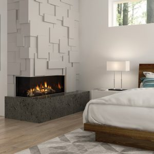 Regency City Series Chicago Corner 40″ Gas Fireplace
