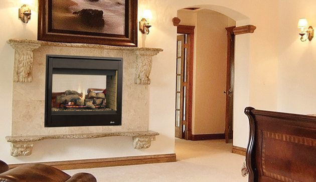 superior gas fireplace traditional superior drt40 seethrough gas fireplace warehouse etc shop