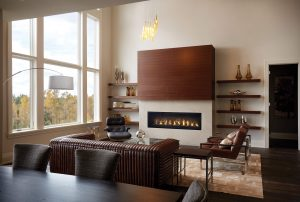 """Luxuria 62"""" wrought iron globes in a contemporary living room"""