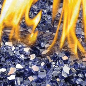 Napoleon Blue Glass Embers