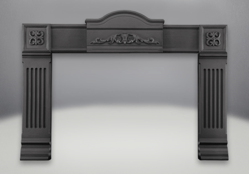 Napoleon Inspiration Cast Iron Surround - Black