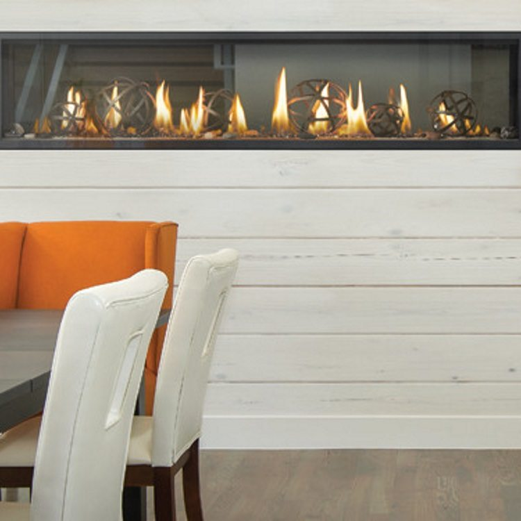 Napoleon Luxuria 74 Quot See Thru Gas Fireplace Fireplace