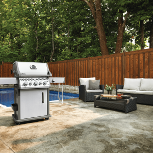 Napoleon Rogue® SE 425, Infrared Rear and Side Burners, Stainless Steel