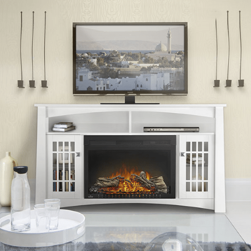 The Adele - Electric Fireplace Mantel