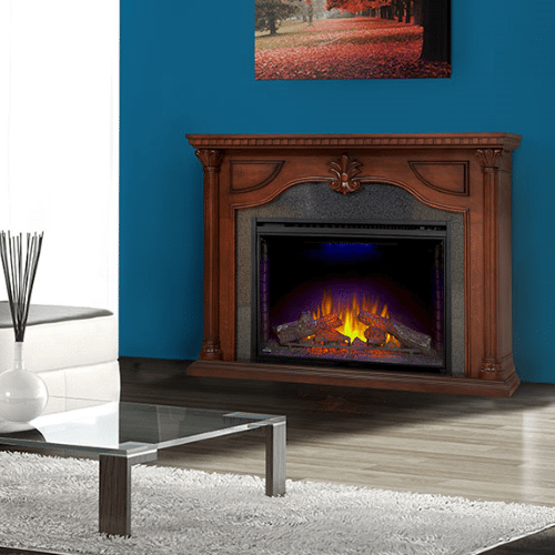 The Aden - Electric Fireplace Mantel