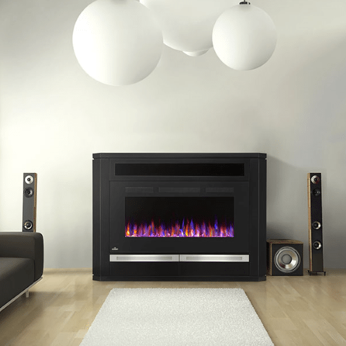The Alanis - Electric Fireplace Mantel