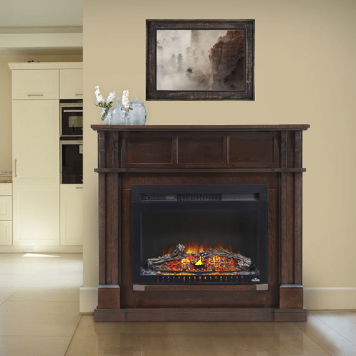 The Bailey - Electric Fireplace Mantel