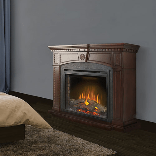 The Harlow - Electric Fireplace Mantel