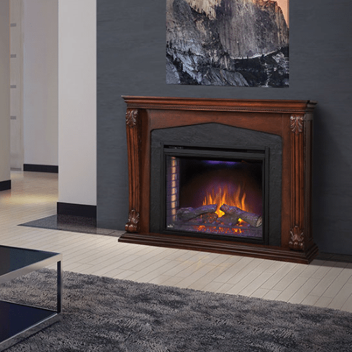 The Monroe - Electric Fireplace Mantel