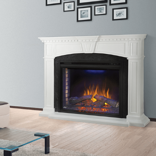 The Taylor - Electric Fireplace Mantel