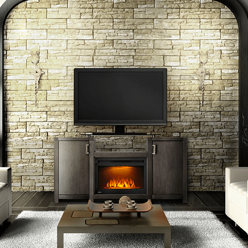 The Whitney - Electric Fireplace Mantel