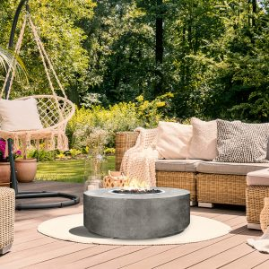 Prism Hardscapes Rotondo Series Fire Table