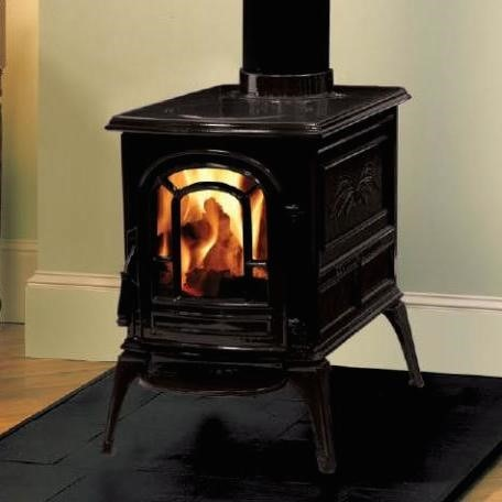 Wood Burning Stove In Colorado Springs Fireplace