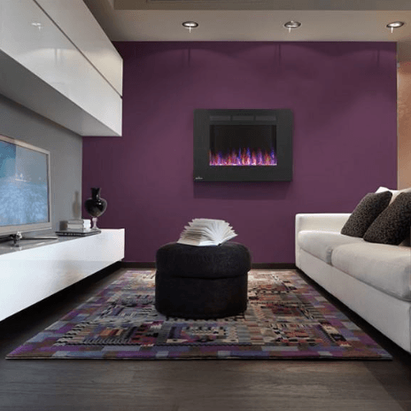 You Need to Know About Wall Mount Electric Fireplaces