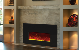 cleaner fireplace burning