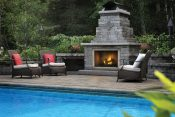 Outdoor Fireplace, Outdoor Living Space