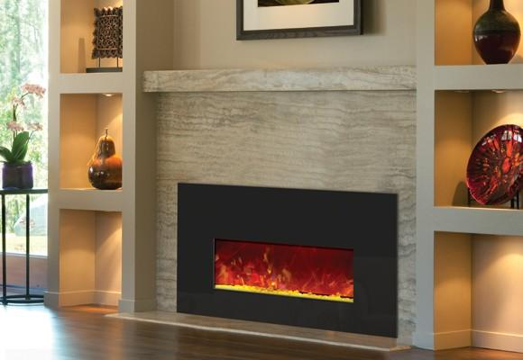 an ideal choice for existing fireplaces renovations alter the flames of this amanti insert from traditional yellow and orange to blue purple