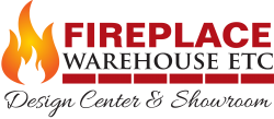 Fireplace Warehouse Logo - Transparent
