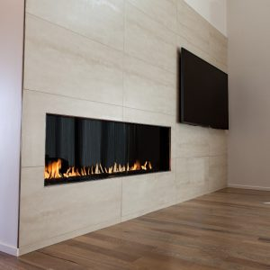 Flare FF-60 Front Glass Frameless Fireplace