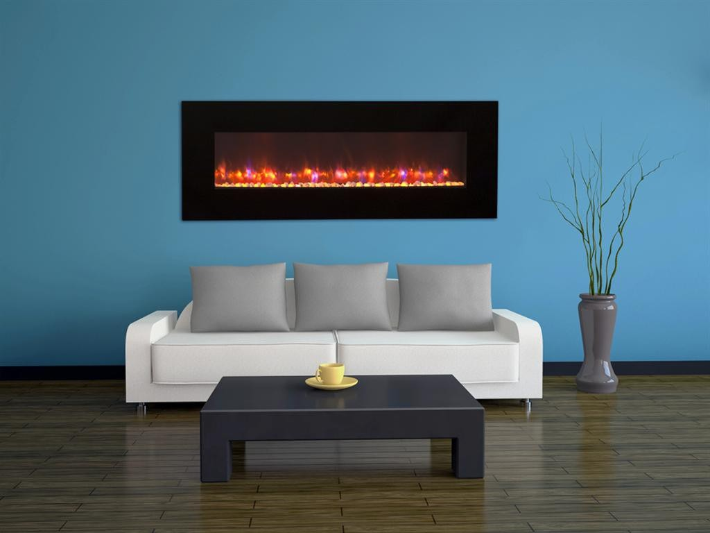 the great outdoor room linear electric fireplace ef70pus