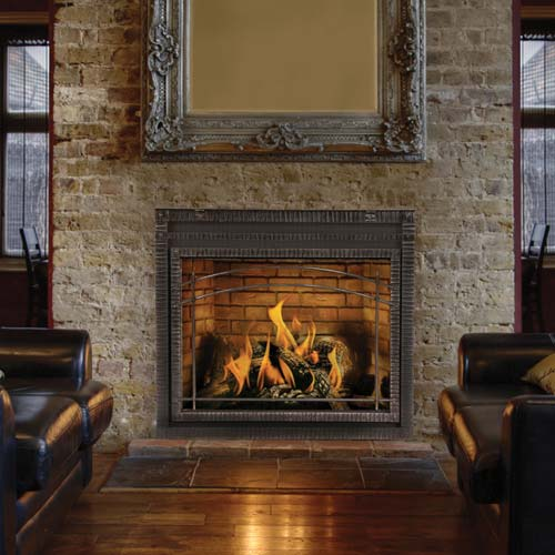 Fireplace Definition: Napoleon High Definition HDX40NT Gas Fireplace