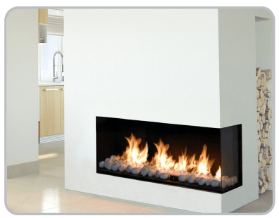 Flare Rc Lc 60 Left Corner Fireplaces